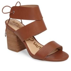 Sam Edelman valerie brown block here sandal